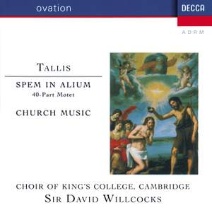 Tallis: Church Music