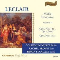 Leclair - Violin Concertos Volume 2