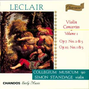 Leclair - Violin Concertos Volume 1