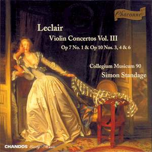 Leclair - Violin Concertos Volume 3