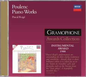 Poulenc - Piano Works