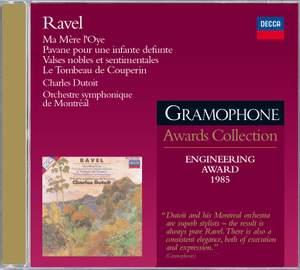 Ravel: Ma Mère l'Oye, Pavane pour une infante défunte