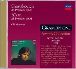 Shostakovich & Alkan: Preludes for Piano