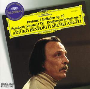Brahms: Ballades and Schubert & Beethoven: Piano Sonatas Product Image