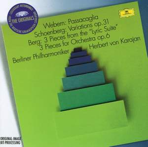 Webern: Passacaglia, Schoenberg: Variations for Orchestra Product Image
