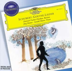 Schubert - Goethe-Lieder Product Image