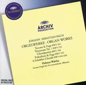 J S Bach - Organ Works Product Image
