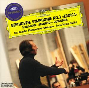Beethoven: Symphony No. 3 & Schumann: Manfred Overture Product Image