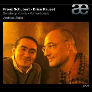Schubert & Pauset: Piano Sonatas Product Image