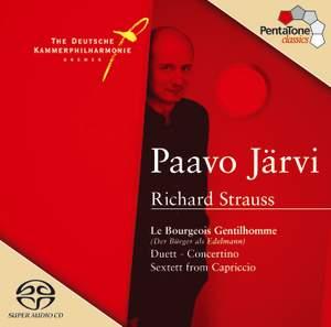 Strauss, R: Suite for orchestra from Der Bürger als Edelmann (The Bourgeois Gentleman) Op. 60, etc.