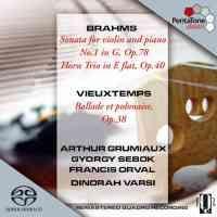 Trio Grumiaux: Brahms & Vieuxtemps