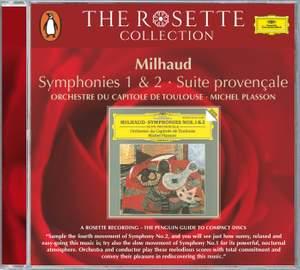 Milhaud: Symphonies Nos. 1 & 2 and Suite provençale