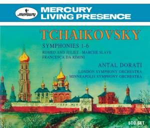 Tchaikovsky: Symphony No. 1 in G minor, Op. 13 'Winter Daydreams', etc.