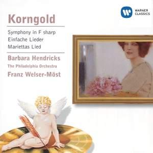 Korngold: Symphony in F sharp major, Op. 40, etc.
