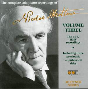 The complete piano recordings of Nicolas Medtner