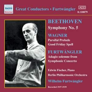 Great Conductors - Wilhelm Furtwängler Product Image