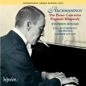 Rachmaninov: The Piano Concertos & Paganini Rhapsody Product Image