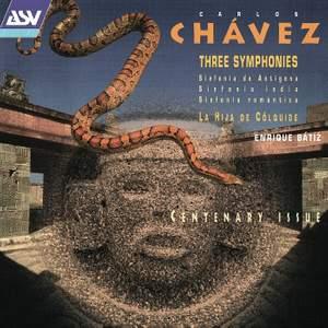 Carlos Chávez: Three Symphonies