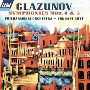 Glazunov: Symphonies Nos. 4 & 5 Product Image