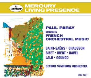 Paray conducts French Orchestral Music