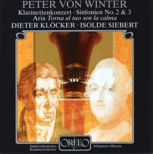 Winter, P von: Concerto for clarinet & orchestra in E flat major, etc.
