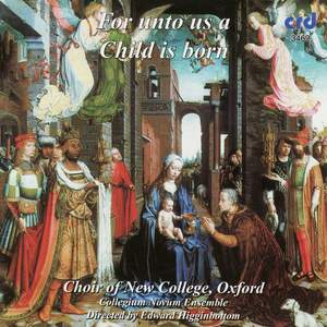 For unto us a Child is born Product Image