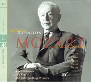 Rubinstein Collection, Vol. 61: Mozart: Piano Concertos Nos. 17, 20 21 23 24