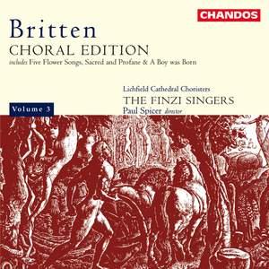 Britten Choral Edition Volume 3