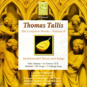 Thomas Tallis - Complete Works Volume 9