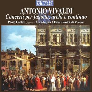 Vivaldi - Concertos for Bassoon, Strings & Continuo Product Image
