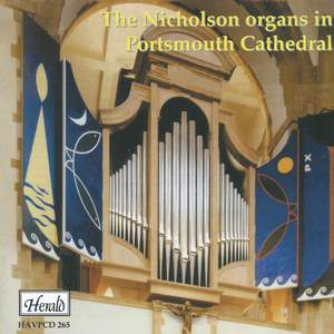 The Nicholson organs in Portsmouth Cathedral
