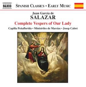 Salazar, J G: Complete Vespers for Our Lady Product Image