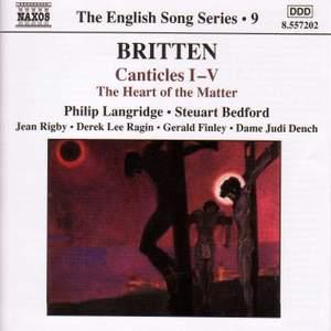 The English Song Series Volume 9 - Benjamin Britten 2