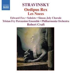 Stravinsky: Oedipus Rex & Les Noces Product Image