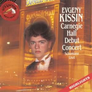 Evgeny Kissin - Carnegie Hall Debut Concert