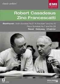 Robert Casadesus & Zino Francescatti