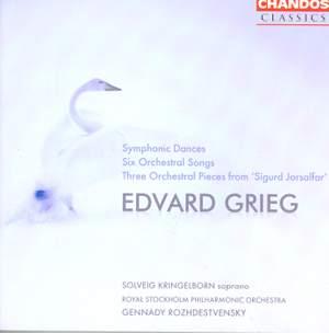 Grieg: Symphonic Dances (4), Op. 64, etc. Product Image