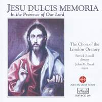 "Jesu Dulcis Memoria - ""In the Presence of our Lord"""