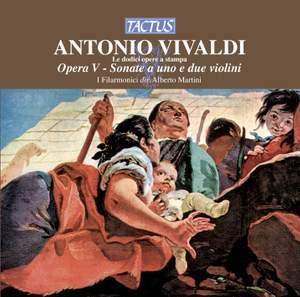 Vivaldi - Violin Sonatas Op 5 Product Image