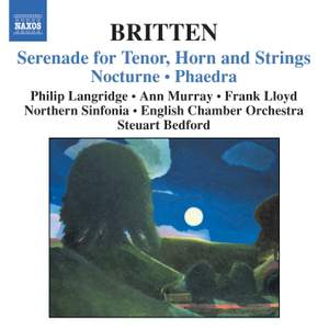 Britten: Serenade, Nocturne and Phaedra Product Image