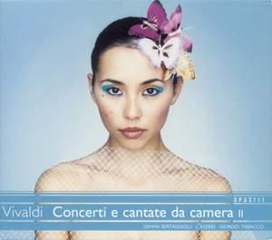 Vivaldi - Concerti e cantate da camera II