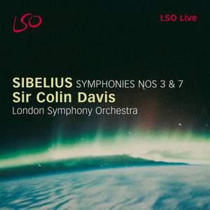 Sibelius: Symphonies Nos. 3 & 7