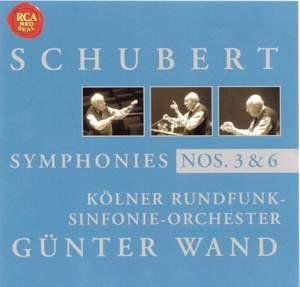 Schubert - Symphonies Nos. 3 & 6