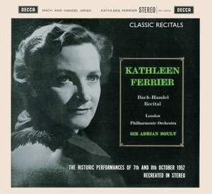 Kathleen Ferrier - Favourite arias by Bach and Handel