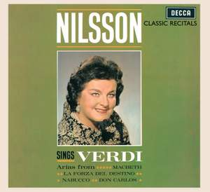 Birgit Nilsson Sings Verdi
