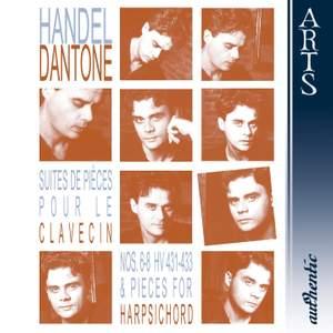 Handel: Harpsichord Suites Nos. 6-8 and other works for harpsichord