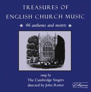 Treasures of English Church Music Product Image
