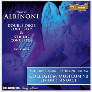 Albinoni: Double Oboe Concertos & String Concertos Volume 1