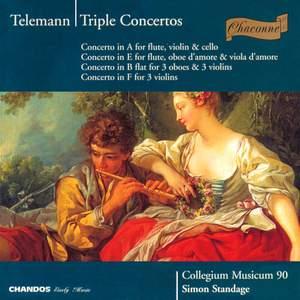 Telemann - Triple Concertos