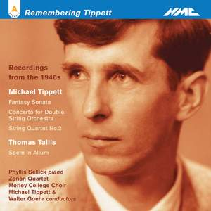 Michel Tippett - Historic Recordings from the 1940's